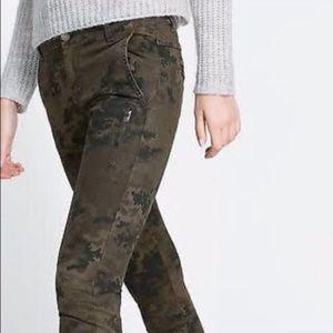 Zara Z1975 Zara Camouflage Denim